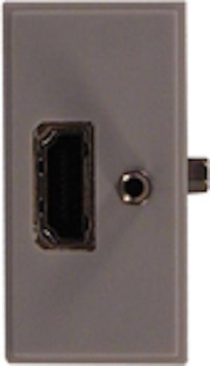 Modul HDMI stående med skruv