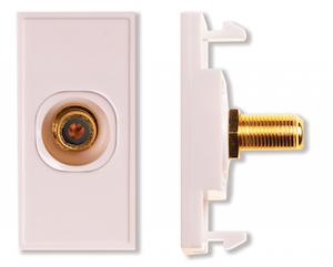 Modul RCA till F-kontakt diskret
