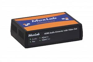 Ljud De-embedder, HDMI in, HDMI + sep. ljud ut, 4K