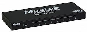 HDMI splitter 1:8 med 4K UHD, 60 Hz