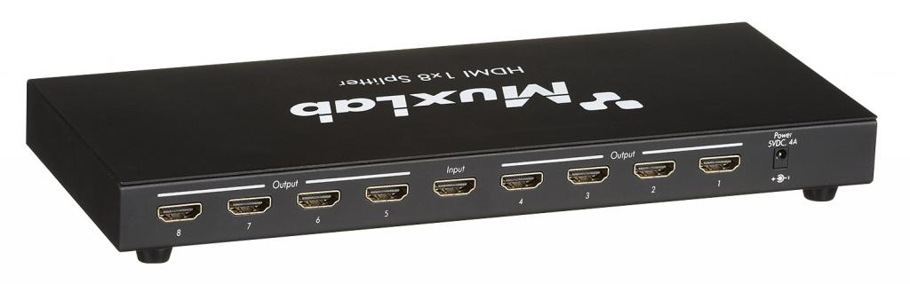 Muxlab HDMI 1x8 Splitter