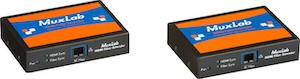 HDMI 4K Fiber mottagare, RS232, IR, 305m