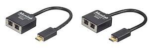 Passivt HDMI Extender Kit 2 kablar