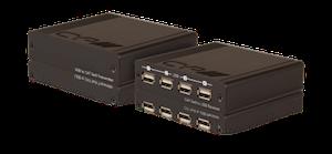 USB 2.0 over Single CAT (100m) Kit