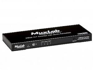 HDMI switch 4:1 , + externt audio ut