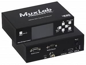 HDMI 2.0 / 3G-SDI Signal Analysator