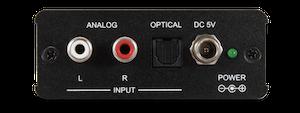 Analogt ljud till HDMI (audio only)