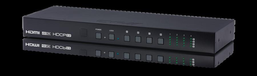CYP/// HDMI Matris 4x4, 4K, HDMI 2.0, HDCP 2.2