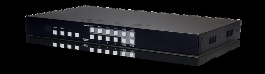 CYP/// 4:1 HDMI switch med bild-i-bild.