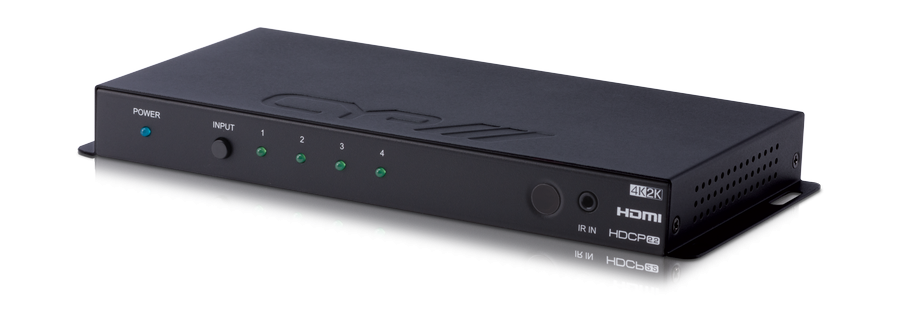 CYP/// HDMI 4:1 Switch, Auto-Switching, 4K, HDCP 2.2