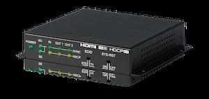 HDMI splitter 1:2 med HDMI2.0, HDCP2.2