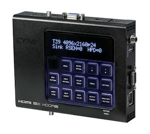 Avancerad HDMI analysator, 4K2K, HDCP2.2