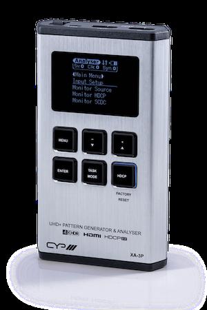 Avancerad HDMI analysator, 4K2K, HDCP2.2 och kabeltestare