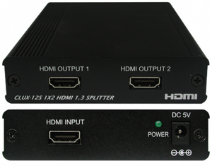 HDMI splitter 1 in 2 ut