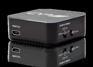 CYP/// Ljudinmatare för att mata in analogt eller digitalt ljud i HDMI