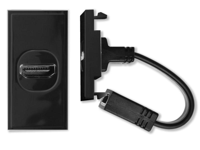 HDconnect HDMI modul med svans SVART