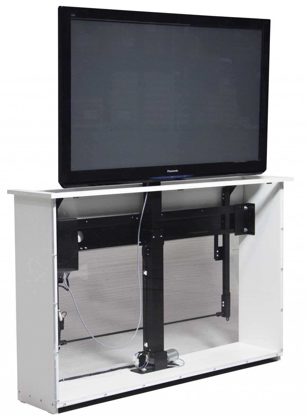 Sabaj Tv - Lyft / Hiss 84cm med rotation och lucköppnare monterad