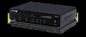 Multiroom-system 4 HDMI in, 1 HDMI ut, 2 HDbaseT ut