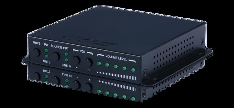 CYP/// 2-kanals Zon-förstärkare 2x20W optisk och line in