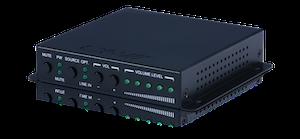 2-kanals Zon-förstärkare 2x20W optisk och line in