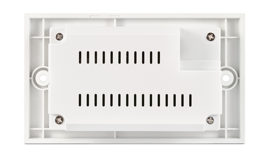 CYP/// HDMI vägg.mott. över singel kabel, Bi-di PoE, 4K, IR, RS232