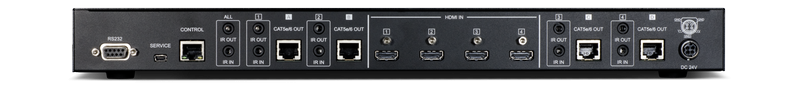 CYP/// 4x4 HDMI till HDBaseT Lite KIT Matris med 4 mott.