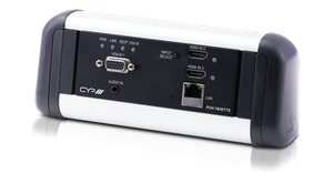 Konferenspaket bordsplacering, HDMI, VGA, HDBaseT, LAN, PoH