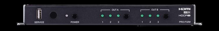 CYP/// HDMI över Fiber, Transceiver, 4K UHD