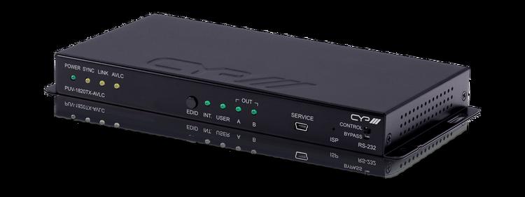 CYP/// Full HDBaseT Sändare, 4K, 100m, HDR, HDMI-Loopback, PoH, LAN, AVLC, 18Gbps, OAR