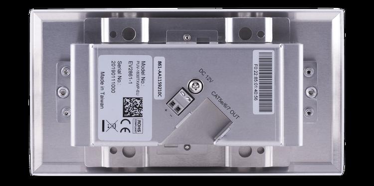 CYP/// HDMI + VGA Wallplate sändare. PoH, LAN 100 meter