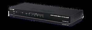 HDMI - HDBaseT Lite splitter, 1:4+1, AVLC, Audio De-embedd