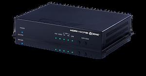 HDMI/DisplayPort Fiber Mottagare, 4K UHD, USB/KVM
