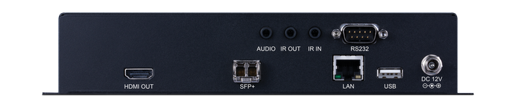 CYP/// HDMI/DisplayPort Fiber Mottagare, 4K UHD, USB/KVM