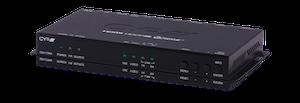 HDMI/DisplayPort kombinerad sändare/ mottagare över CAT, 4K UHD, USB/KVM
