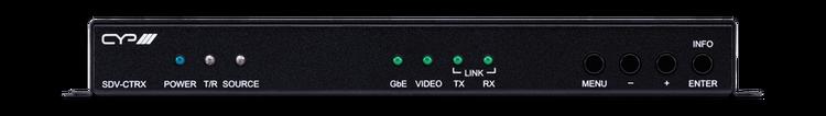 CYP/// HDMI/DisplayPort kombinerad sändare/ mottagare över CAT, 4K UHD, USB/KVM
