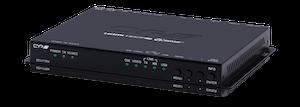 HDMI/DisplayPort kombinerad sändare/ mottagare över Fiber, 4K UHD, USB/KVM