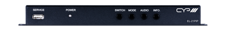 CYP/// HDMI Switch med Picture-in-Picture funktion