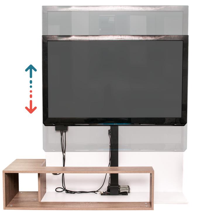 Sabaj Tv - Lyft / Hiss 84cm med rotation