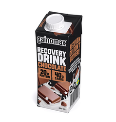 16 x Gainomax Recovery Drink - Chocolate 250 ml