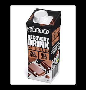 16 x Gainomax Recovery Drink - Chocolate 250 ml