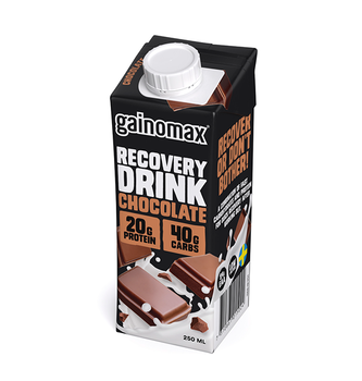 16 x Gainomax Recovery Drink - Chocolate
