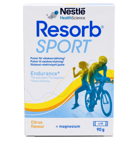 Resorb Sport Citron 10-pack