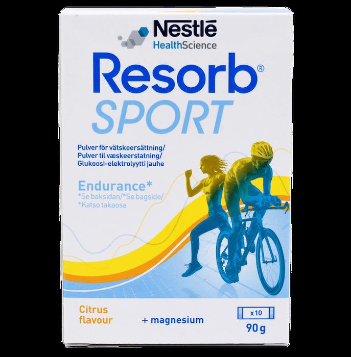 Resorb Sport Citron 10 st