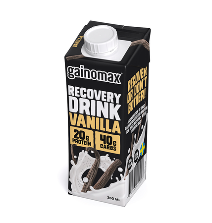16 x Gainomax Recovery Drink - Vanilla 250 ml
