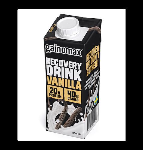 16 x Gainomax Recovery Drink - Vanilla