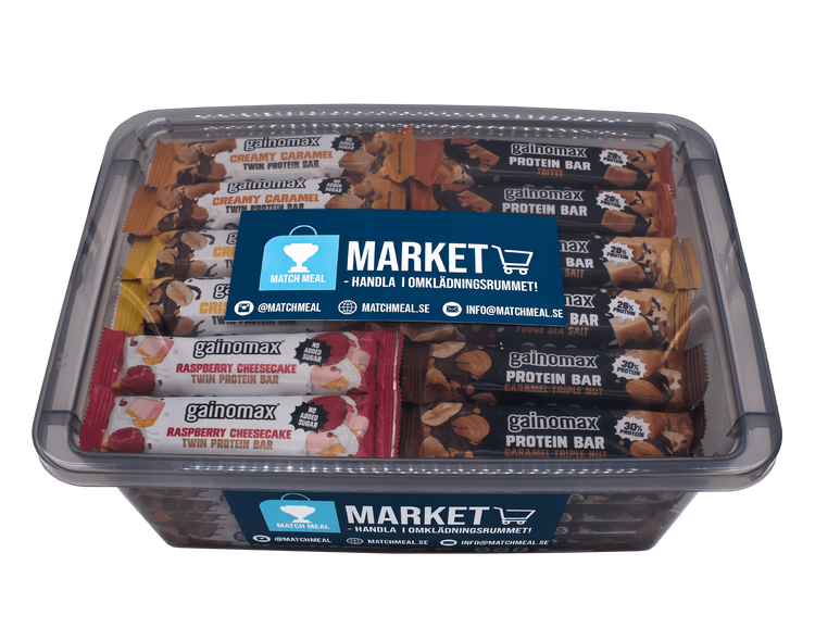 Match Meal Market - Gainomax Protein Bars