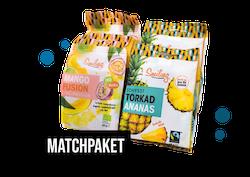 Matchpaket - Ananas & Mango