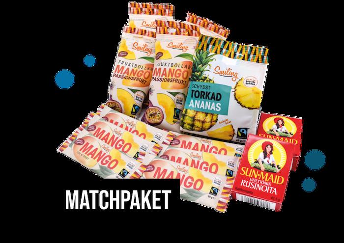 Matchpaket - Frukt