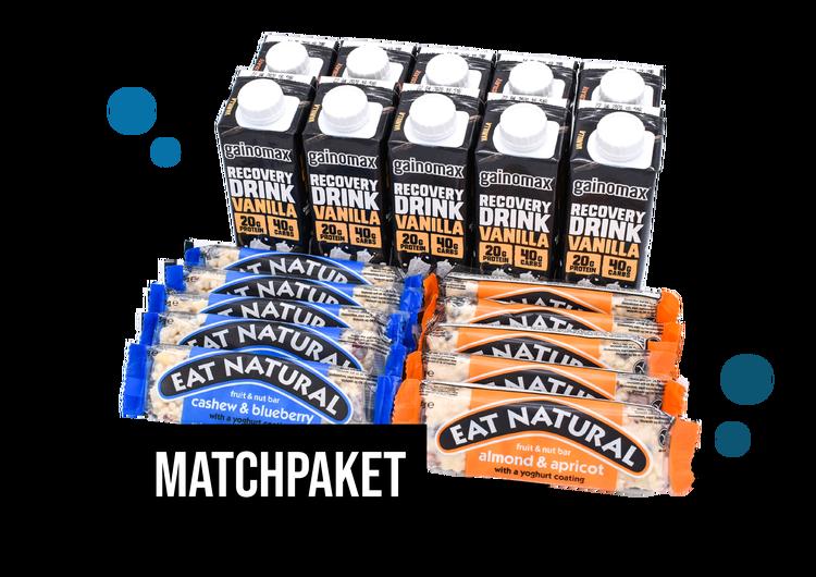 Matchpaket - Gainomax Recovery & Eat Natural