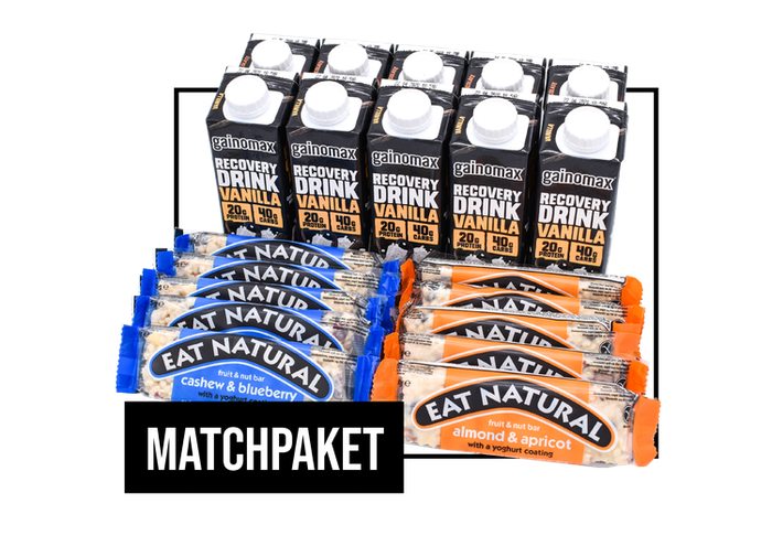 Matchpaket - Gainomax Recovery & Eat Natural